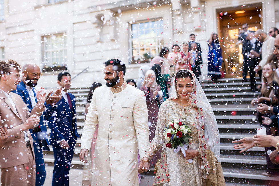 Hackney Town Hall Wedding Photographer 65