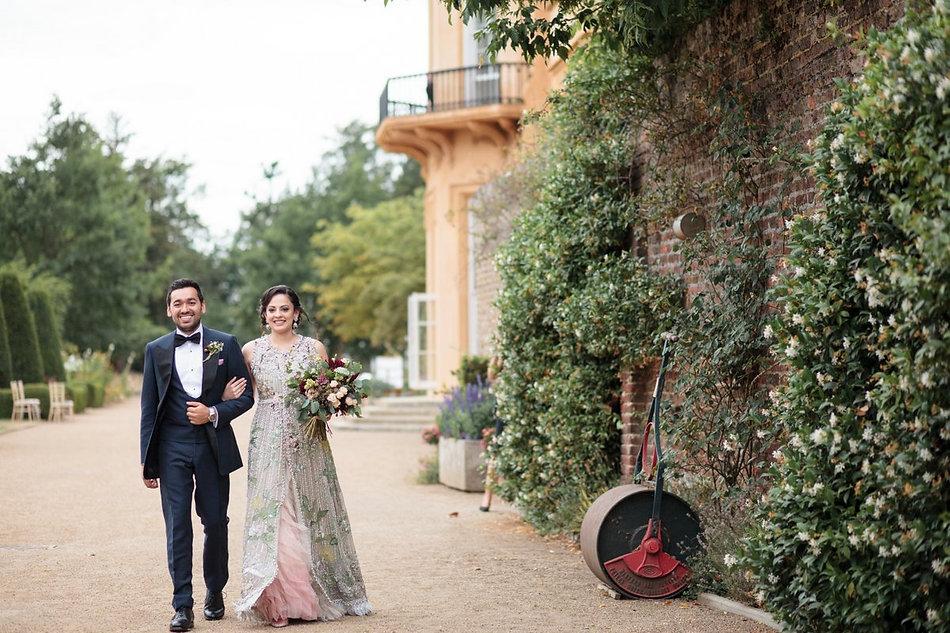Ditton Park Manor Wedding, Pakistani wedding captured by Grace Pham Photography
