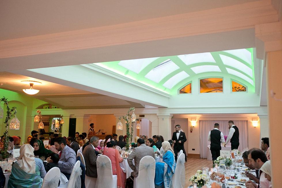 The Belvedere. Pembroke Lodge Wedding, Richmond Park captured by Grace Pham Wedding Photographer