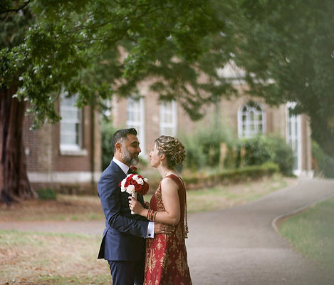 Morden Park House Wedding, London capturd by Grace Pham Photography Aug 2018