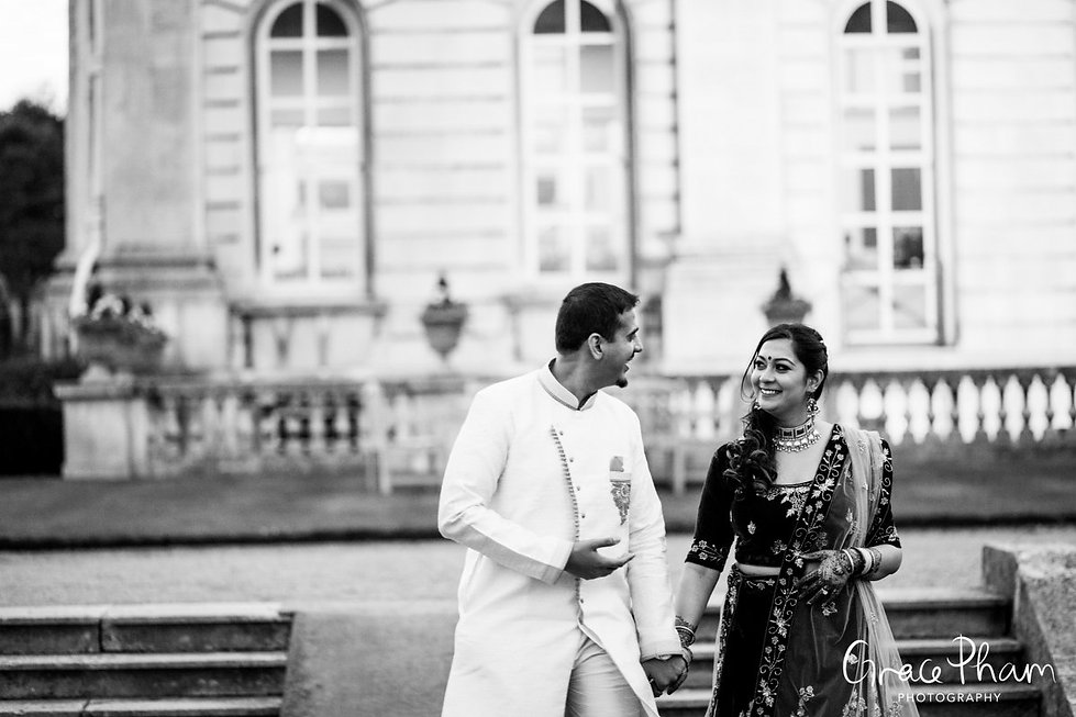 Moor Park Golf Club Mansion Indian Wedding, captured by Grace Pham Photography 21