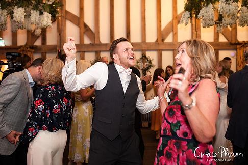 Gate Street Barn Wedding evening reception party 03
