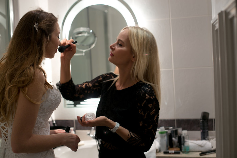 Getting ready shots captured by Grace Pham London Wedding Photographer