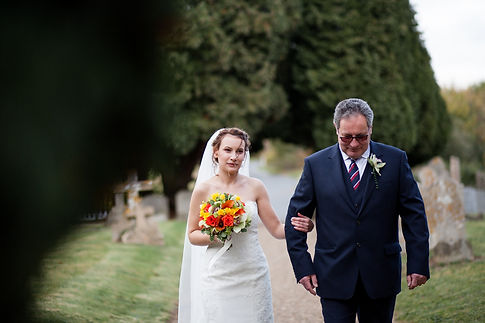 Saint Mary The Virgin Church Wedding, Ipswich, Suffolk, captured by Grace Pham Photography 02
