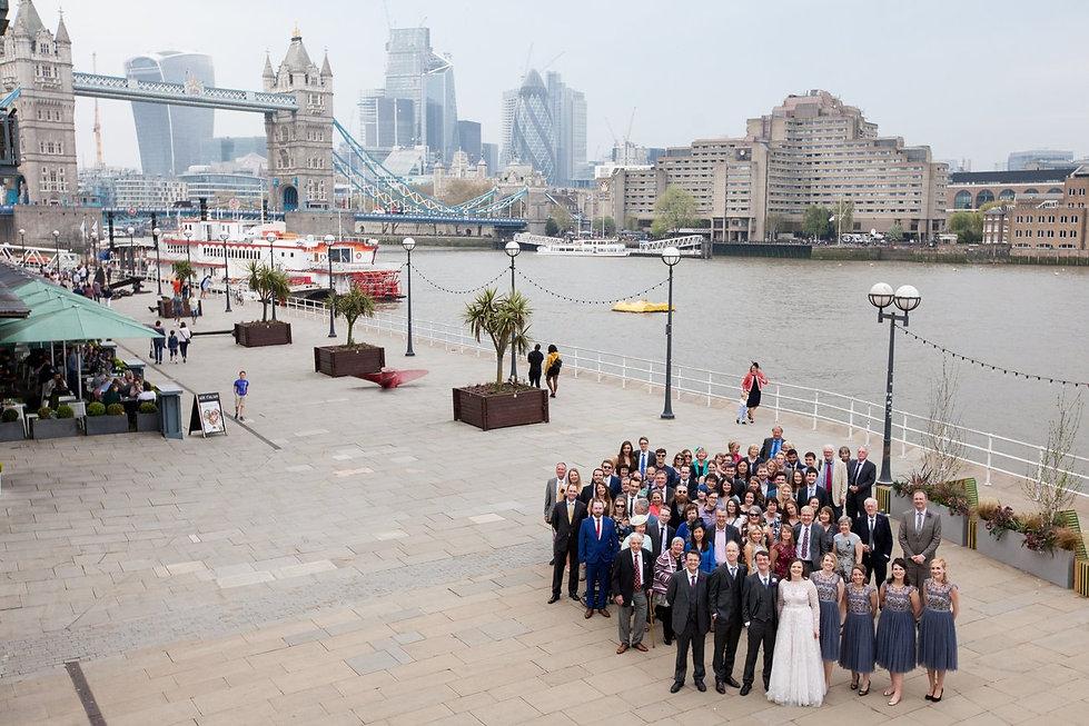 London wedding photographer, Tower Bridge, Blueprint Cafe 01
