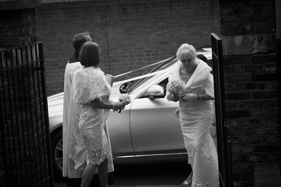 St Mary's Church Wedding, St Mary's Rd, Molesey