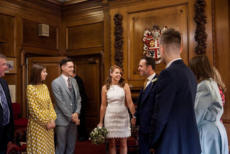Islington Town Hall Wedding Photography, The Mayor's Parlour