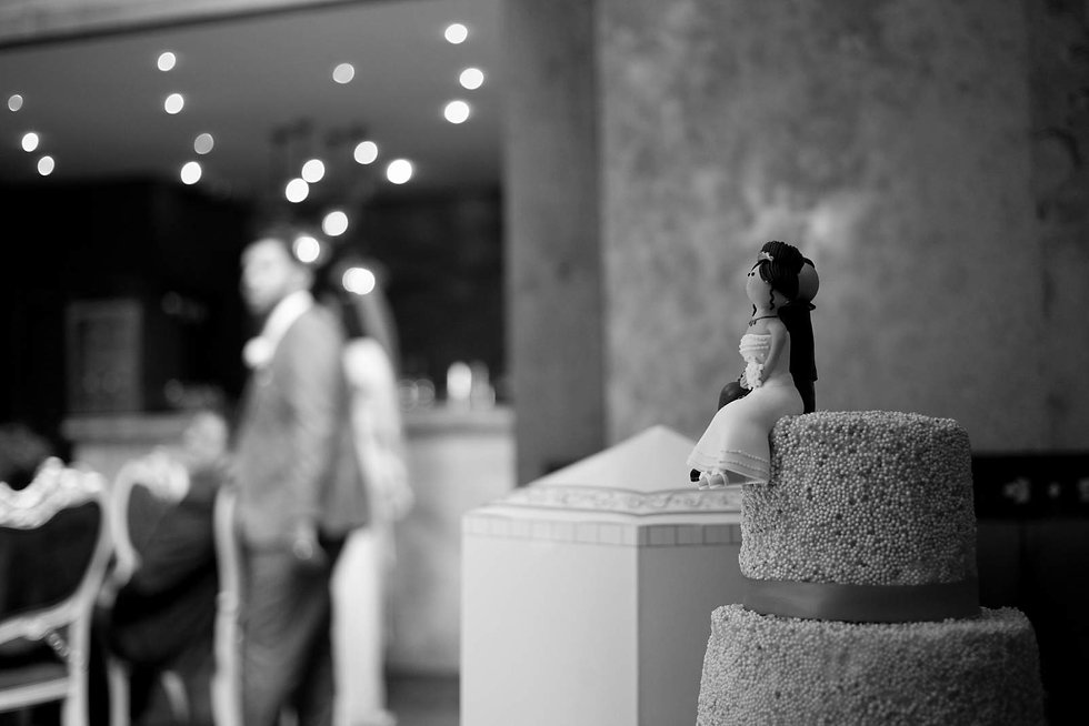 Wedding cake, photo by Grace Pham Wedding Photographer