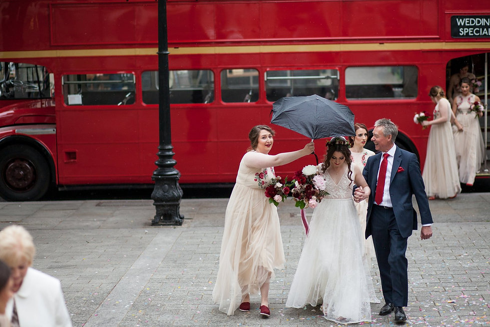 Islington Town Hall Wedding, London Wedding Photographer May 2018 01