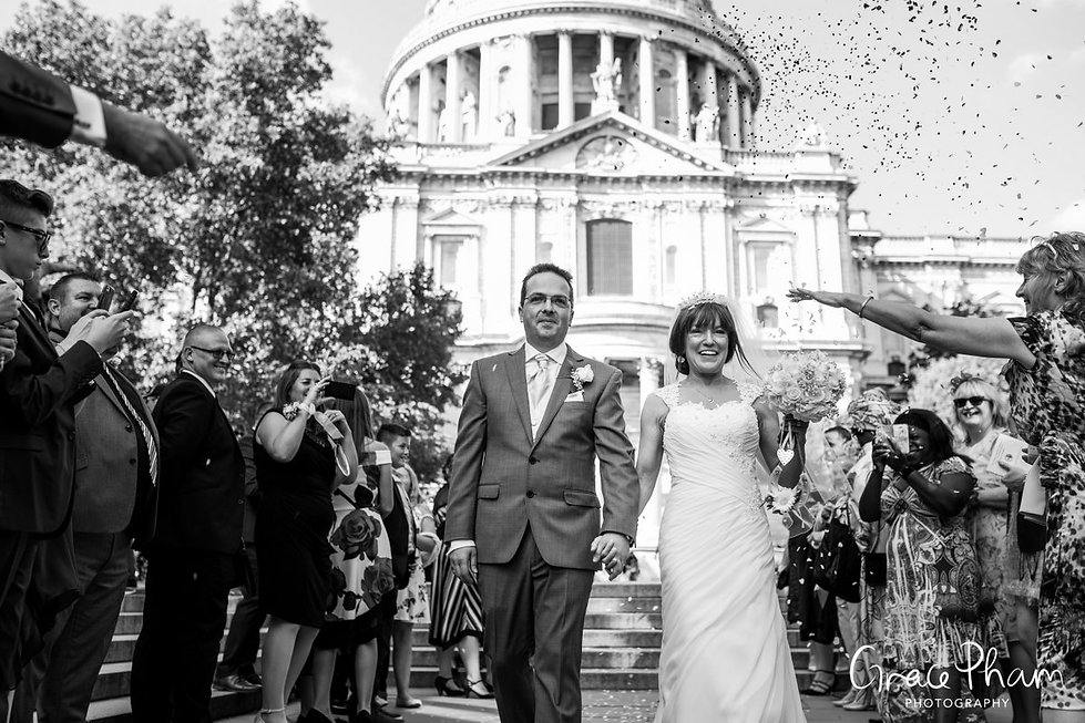 St Paul's Cathedral Wedding, London, Grace Pham Photography 08