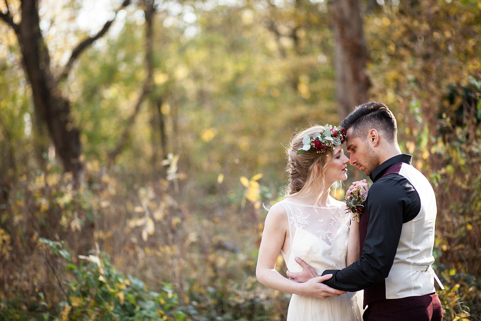 Boho Autumn elopement styled shoot, tower hamlets cemetery, east London wedding, Grace Pham photography 15