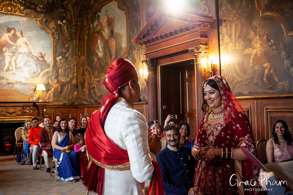 Moor Park Golf Club Mansion Indian Wedding, captured by Grace Pham Photography 04