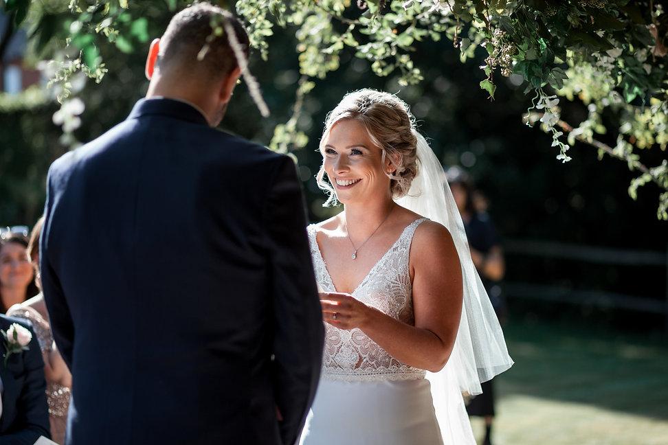 Sam & Charley Bury Court Farm Wedding, Farnham, captured by Grace Pham Photography 09