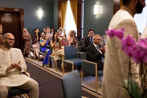 Hackney Town Hall Wedding Photographer-7
