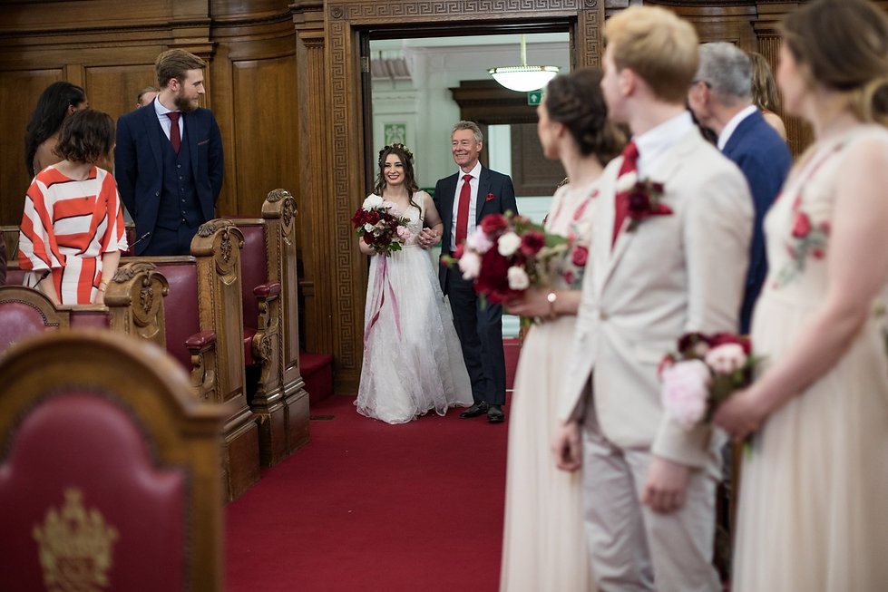 Islington Town Hall Wedding, London Wedding Photographer May 2018 02
