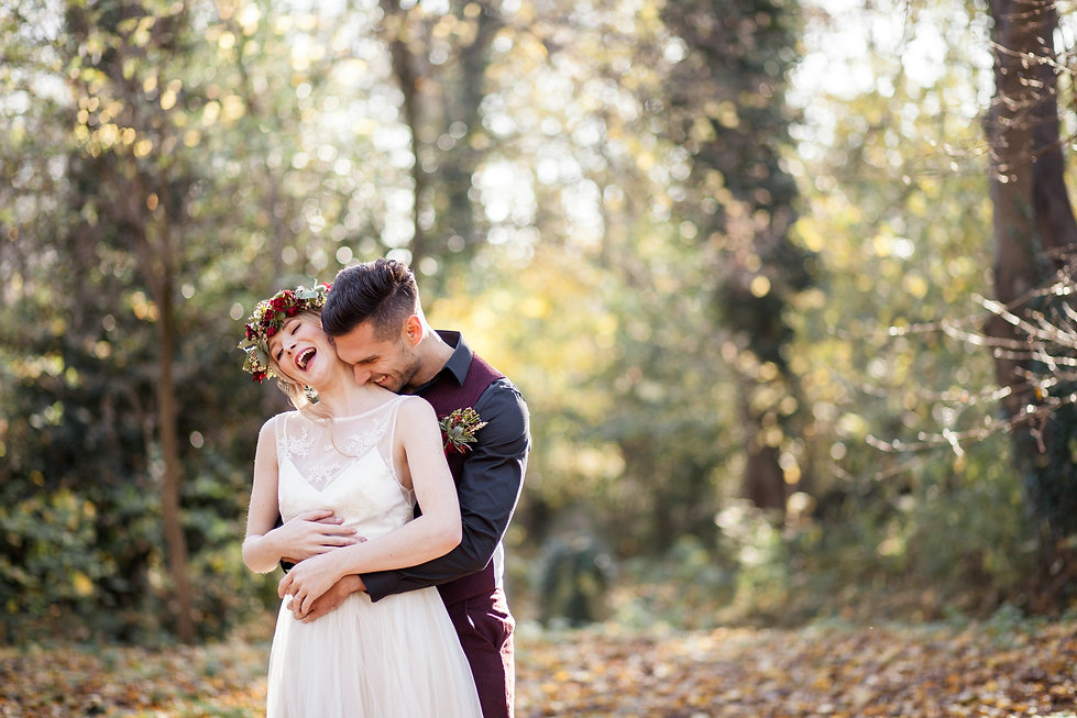Boho Autumn elopement styled shoot, tower hamlets cemetery, east London wedding, Grace Pham photography 04