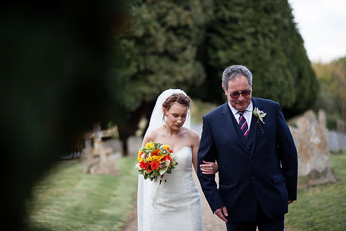 Saint Mary The Virgin Church Wedding, Ipswich, Suffolk, captured by Grace Pham Photography 03