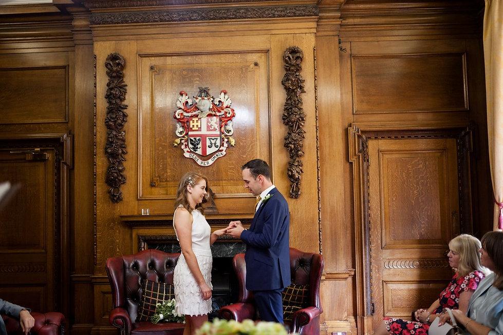 Islington Town Hall Wedding Photography, The Mayor's Parlour 02
