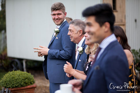 Gate Street Barn Wedding Venue captured by Grace Pham Photography 3