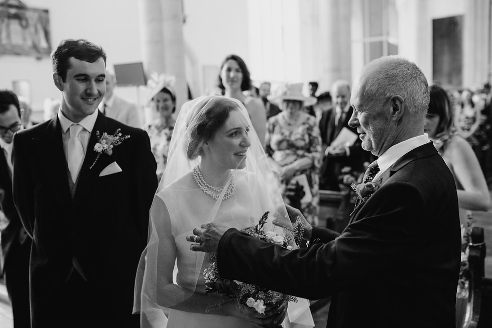 St Mary's Church Wedding, Wootton captured by Grace Pham Photography 05