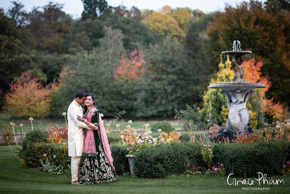 Moor Park Golf Club Mansion Indian Wedding, captured by Grace Pham Photography 25