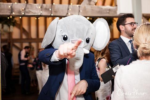 Gate Street Barn Wedding evening reception party 04