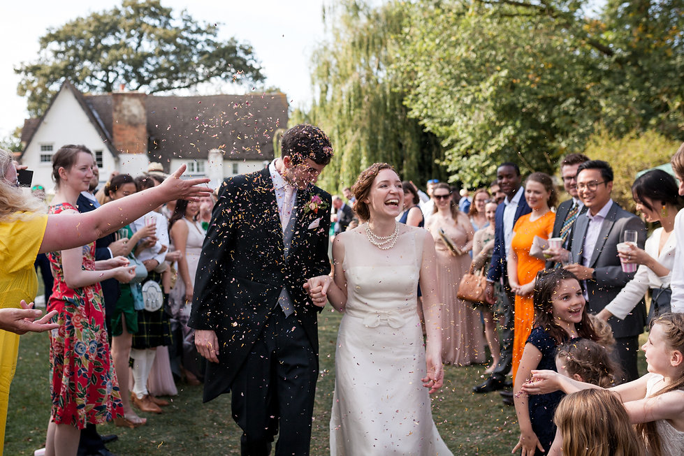 Farm wedding in Bedford captured by Grace Pham Photography 1