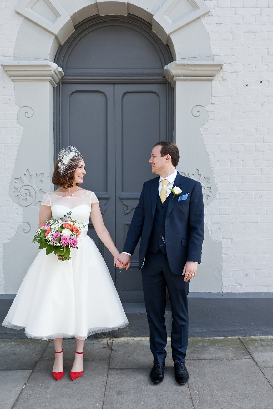 County Arms Wedding Venue captured by Grace Pham London Wedding Photographer