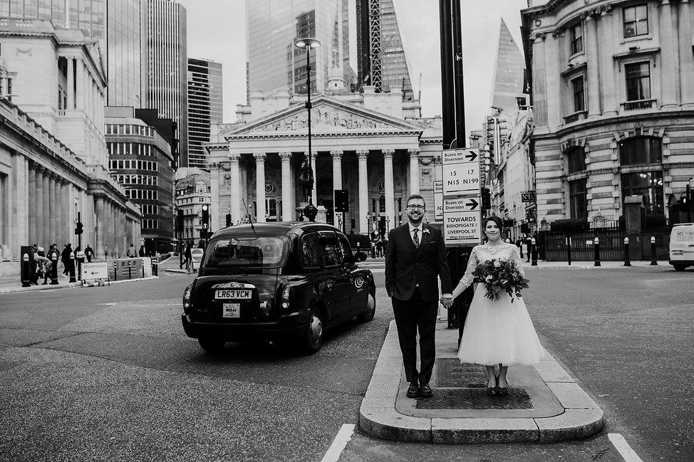 Covid Wedding, London captured by Grace Pham Photography 03