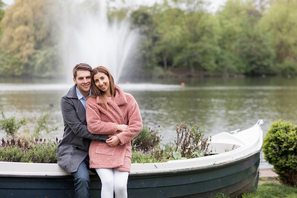 Engagement Photography, Victoria Park, East London by Grace Pham Wedding Photographer 01