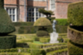 Park Grounds at Great Fosters Hotel by Surrey Wedding Photographer
