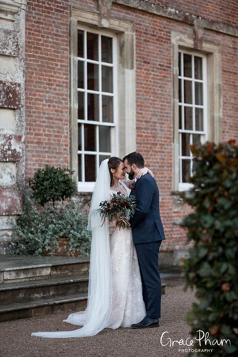 Beautiful St Giles House Wedding, Dorset, captured by Grace Pham Photography 04