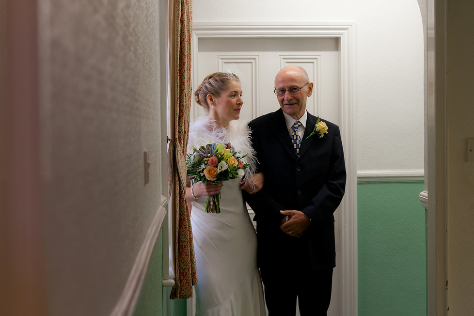 Richmond Register Office Wedding, London captured by Grace Pham Wedding Photographer
