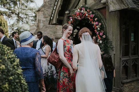 St Mary's Church Wedding, Wootton captured by Grace Pham Photography 12