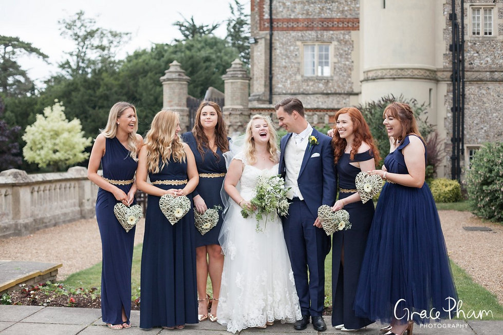 Horsley Towers Wedding, De Vere Horsley Estate, Surrey captured by Grace Pham Photography 02