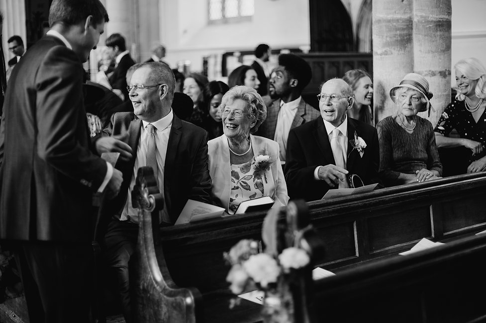 St Mary's Church Wedding, Wootton captured by Grace Pham Photography 01