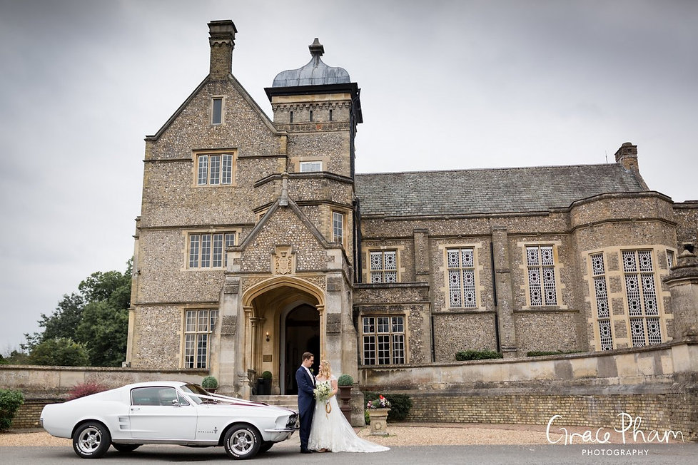 Horsley Towers Wedding, De Vere Horsley Estate, Surrey 2017