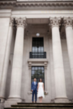 Old Marylebone Town Hall Wedding, London, captured by Grace Pham Photography, Aug 2019 3