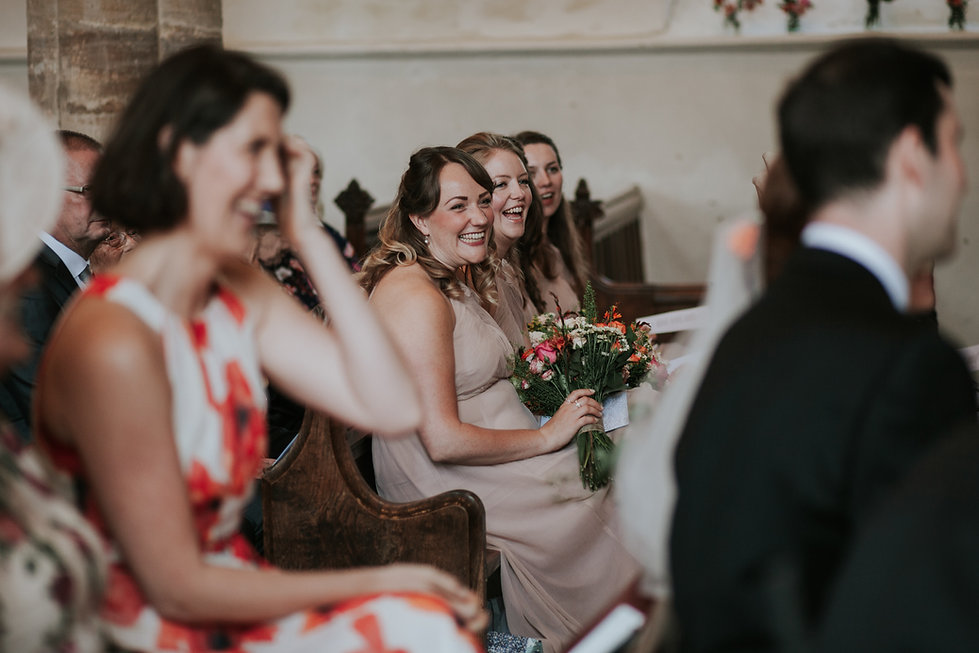 St Mary's Church Wedding, Wootton captured by Grace Pham Photography 10