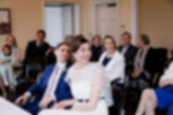 Register office wedding at Manor House Libary, London captured by Grace Pham Wedding Photographer.