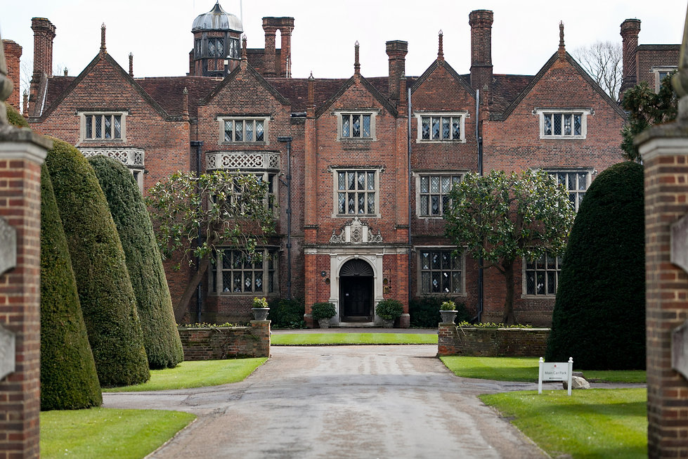 Great Fosters Wedding, Surrey Wedding Venue