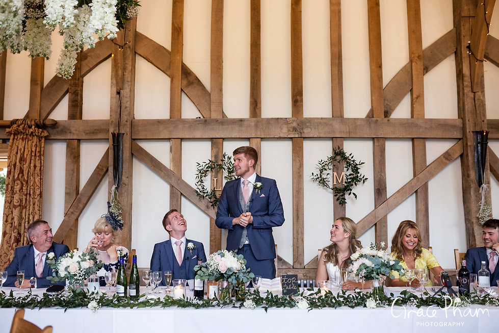 Gate Street Barn Wedding Venue captured by Grace Pham Photography 20