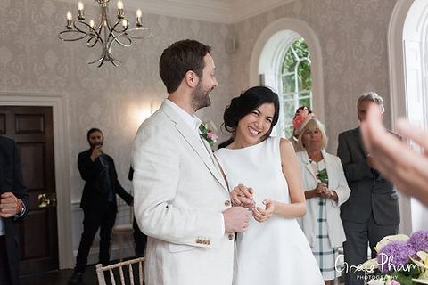 Sheridan Room at Merton Register Office, Morden Park House Wedding Venue captured by London Photographer 04