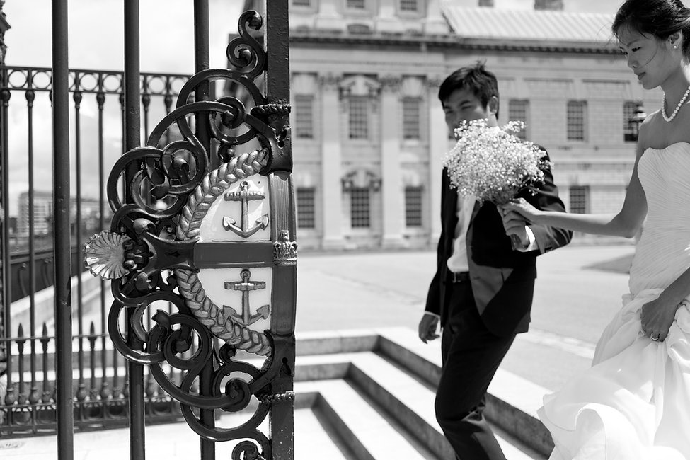 Wedding photos at Greenwich, Old Royal Naval College 05