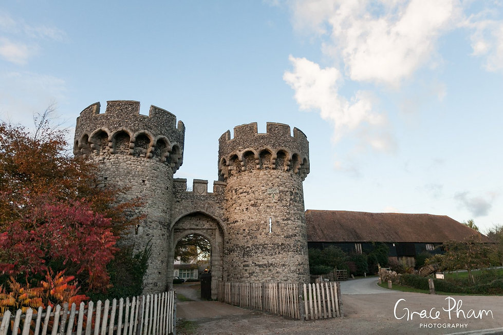 Cooling Castle Wedding Venue, Kent