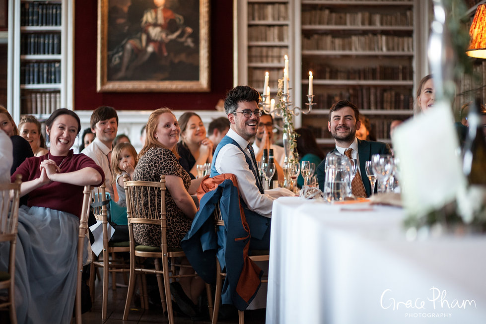 St Giles House Wedding Reception, captured by Grace Pham Photography 03