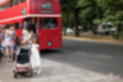 Theatre Royal Drury Lane Wedding Photography, Red London Bus 07