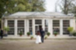 Newby Hall & Garden Wedding Photography, Orangery