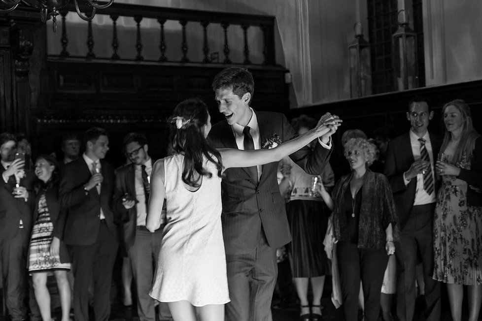 Fulham palace wedding at the Great Hall, dance photos.