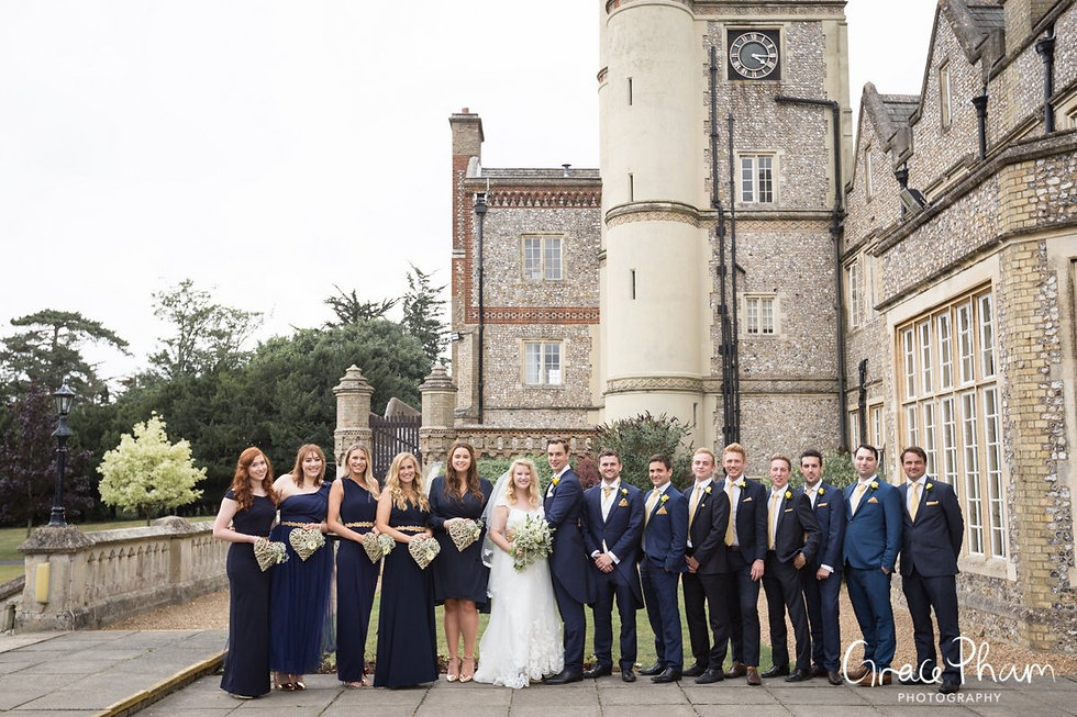 Horsley Towers Wedding, De Vere Horsley Estate, Surrey captured by Grace Pham Photography 03